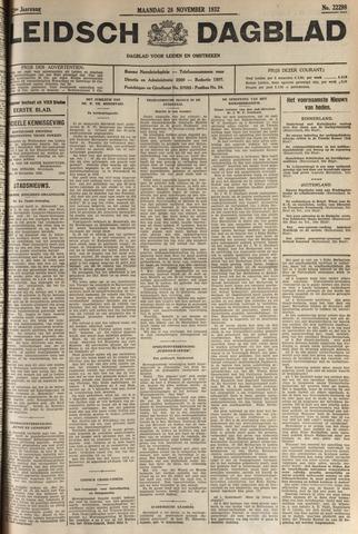 Leidsch Dagblad 1932-11-28