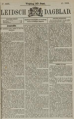 Leidsch Dagblad 1882-06-30
