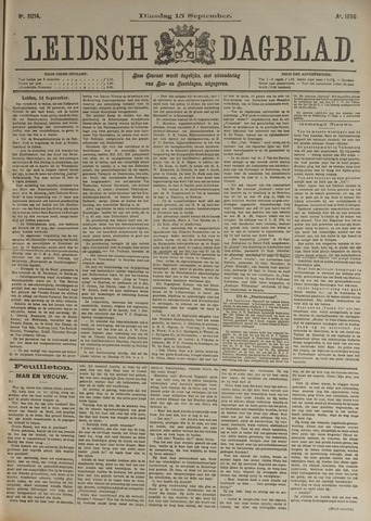 Leidsch Dagblad 1896-09-15