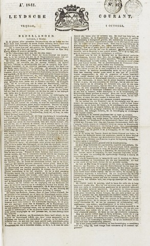 Leydse Courant 1841-10-08