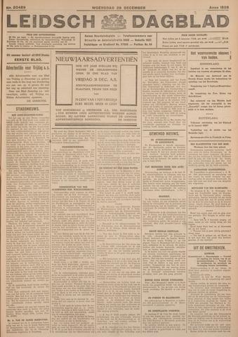 Leidsch Dagblad 1926-12-29