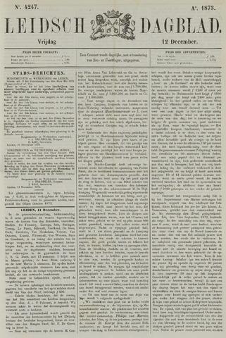 Leidsch Dagblad 1873-12-12