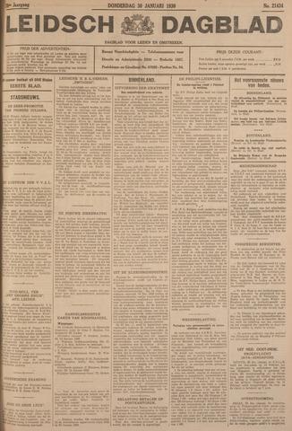 Leidsch Dagblad 1930-01-30