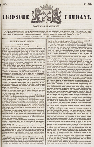 Leydse Courant 1875-11-11