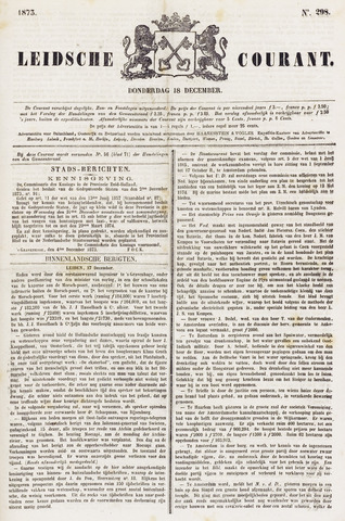 Leydse Courant 1873-12-18