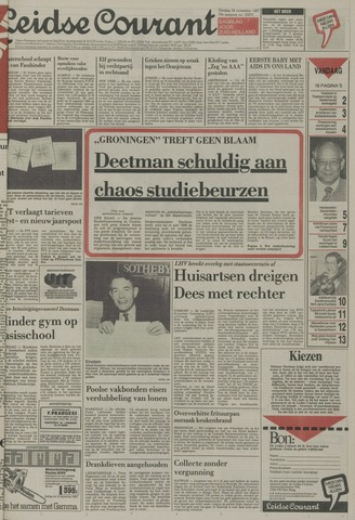 Leidse Courant 1987-11-24