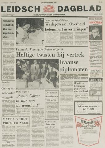 Leidsch Dagblad 1980-04-09