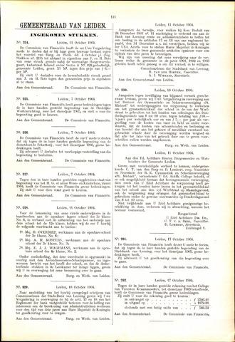 Handelingen van de Raad 1904-10-11