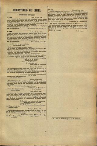 Handelingen van de Raad 1881-06-24