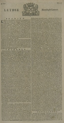 Leydse Courant 1722-09-28