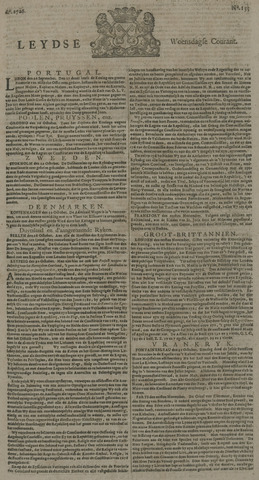 Leydse Courant 1726-11-06