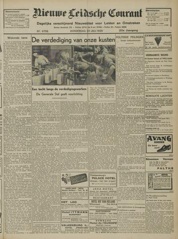 Nieuwe Leidsche Courant 1939-07-20