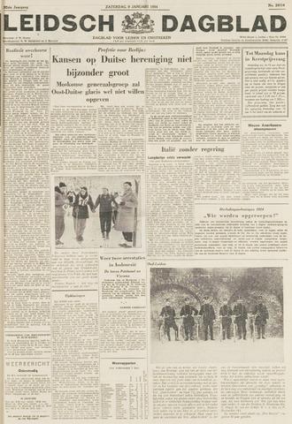 Leidsch Dagblad 1954-01-09
