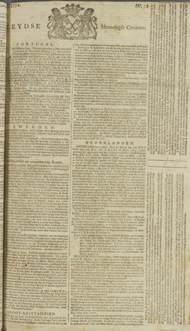 Leydse Courant 1772-06-29