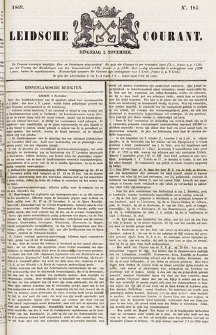 Leydse Courant 1869-11-02