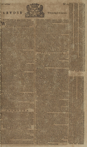 Leydse Courant 1754-06-19
