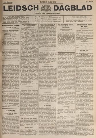 Leidsch Dagblad 1932-07-09