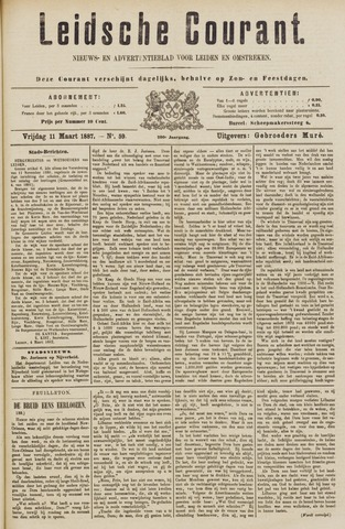 Leydse Courant 1887-03-11