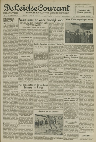 Leidse Courant 1952-02-28