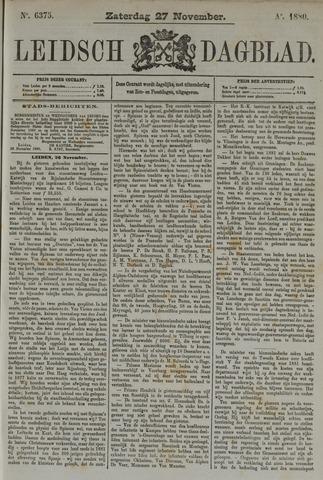 Leidsch Dagblad 1880-11-27
