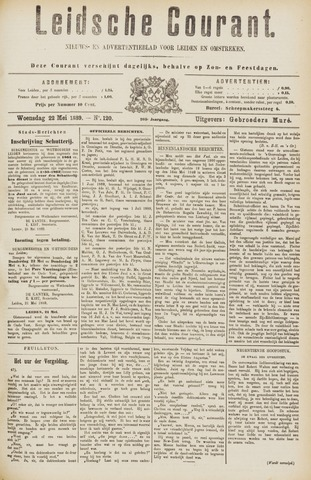 Leydse Courant 1889-05-22