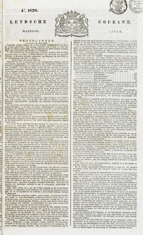 Leydse Courant 1838-07-09