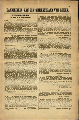 Handelingen van de Raad 1872-02-06