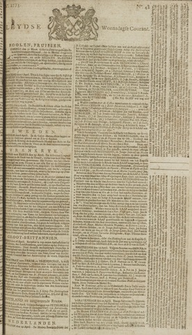 Leydse Courant 1773-04-21