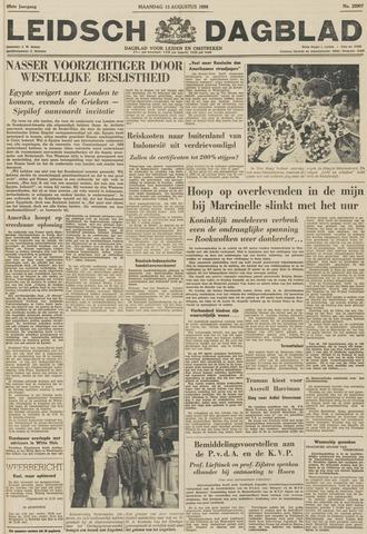 Leidsch Dagblad 1956-08-13