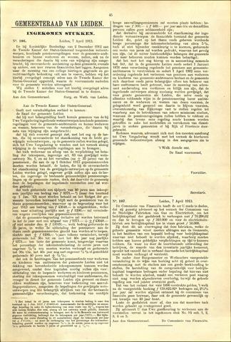 Handelingen van de Raad 1913-04-07