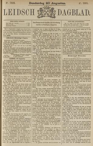 Leidsch Dagblad 1885-08-20