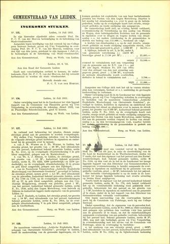 Handelingen van de Raad 1933-07-14