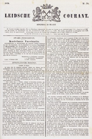 Leydse Courant 1876-03-28