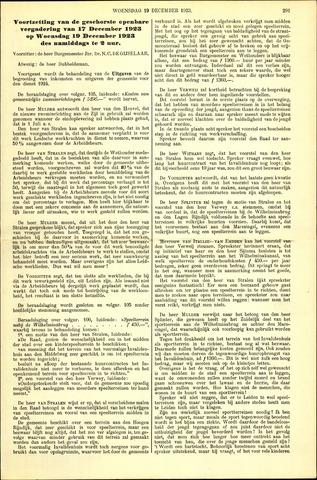 Handelingen van de Raad 1923-12-19