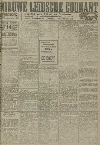 Nieuwe Leidsche Courant 1921-09-13