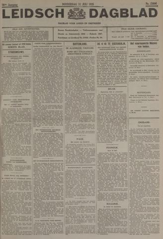 Leidsch Dagblad 1935-07-11