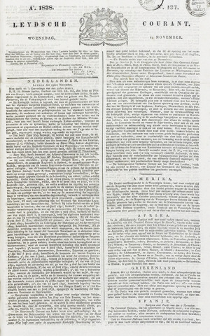 Leydse Courant 1838-11-14
