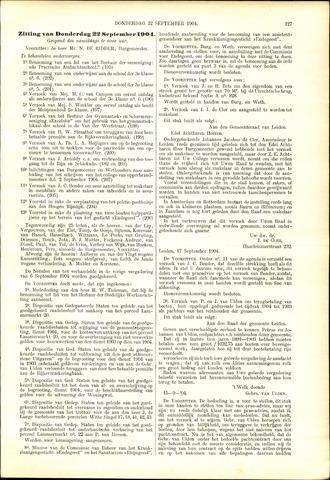 Handelingen van de Raad 1904-09-22