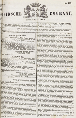 Leydse Courant 1871-08-29