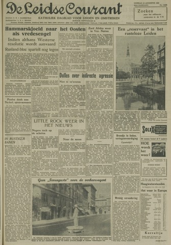 Leidse Courant 1958-08-19