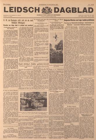 Leidsch Dagblad 1947-08-14