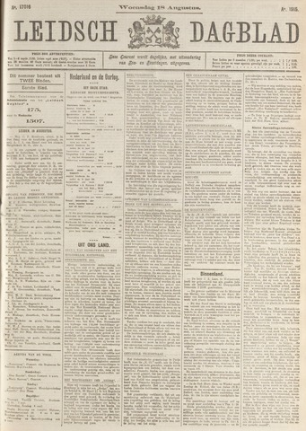 Leidsch Dagblad 1915-08-18
