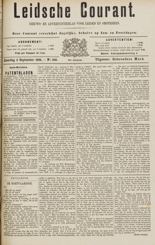 Leydse Courant 1885-09-05