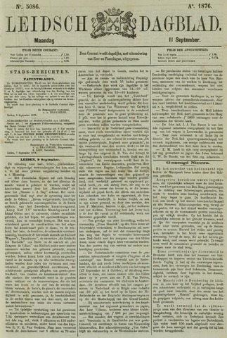 Leidsch Dagblad 1876-09-11