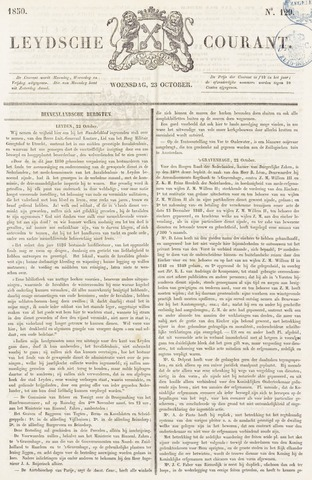 Leydse Courant 1850-10-23
