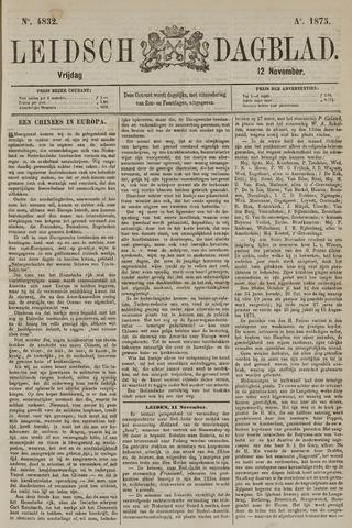 Leidsch Dagblad 1875-11-12