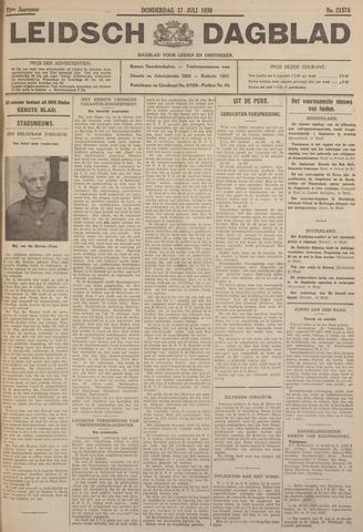 Leidsch Dagblad 1930-07-17