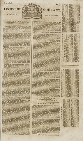 Leydse Courant 1826-01-16
