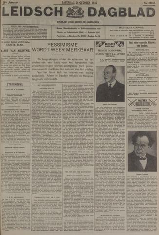 Leidsch Dagblad 1935-10-26