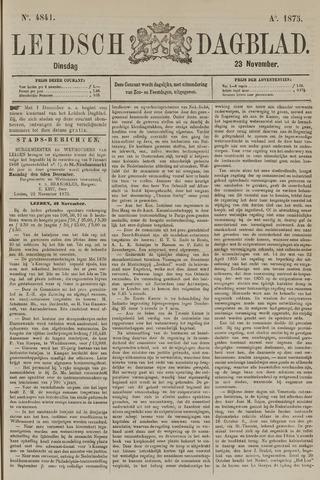 Leidsch Dagblad 1875-11-23